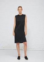 Haider Ackermann Shiny Black Sleeveless Dress