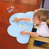Picowe Non-Slip Silicone Placemats & Place Mats &Table Mat & Meal Mat For Baby, Kids Or Children (Blue)