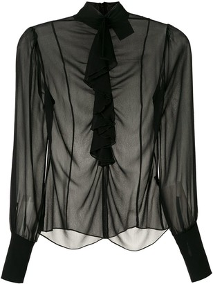 Andrea Bogosian Rosario sheer blouse
