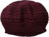 Scala Women's Textured Slouch Beret