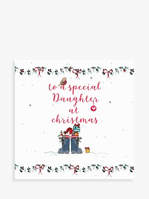 Laura Sherratt Designs Boots & Robin Daughter Christmas Card