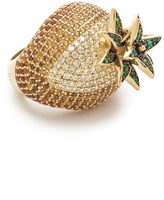 Noir Pineapple Ring