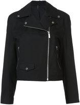 Helmut Lang - zip up biker jacket -