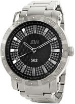 JBW Black & Silver 562 Bracelet Watch - Men