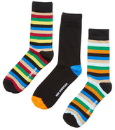 Ben Sherman Multicolored Cotton Socks (3 PK)