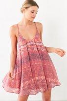 Kimchi & Blue Kimchi Blue Lace-Up Side Mini Dress