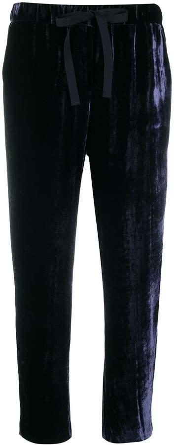 Semi-Couture Semicouture velvet trousers
