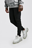 boohoo Mens Black Skinny Jeans, Black