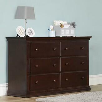 Suite Bebe Riley Changing Table Dresser Suite Bebe Color: Espresso