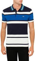 Lacoste Slim Fit Multi Stripe Polo