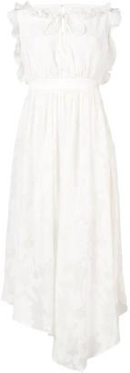 Three floor Blanched Blossum dress