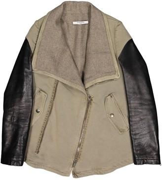 Givenchy Khaki Cotton Coat for Women