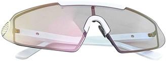 Acne Studios White Plastic Sunglasses