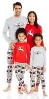 Petit Lem Holiday Women's 2 Pc Set Pyjama L/s Top and Pant Knit