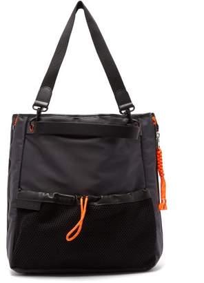 J.W.Anderson Contrast Zip Nylon Tote Bag - Womens - Orange Multi