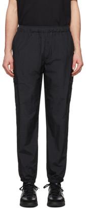 Rassvet Black Nylon Track Pants