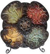 Tiled Medallion Metal Decor