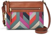 Fossil Fiona Chevron Small Cross-Body Bag