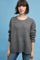 Moth Oversized Scoop Neck Pullover