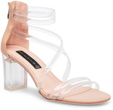 Steven New York Lexis Transparent Strap Sandal
