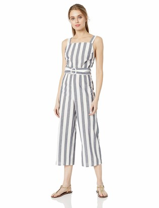 The Fifth Label Women's SLEEELESS Cropped Wide Leg Jumpsuit