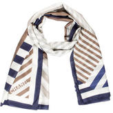 Chanel Woven Striped Shawl