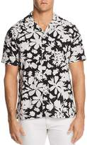 Todd Snyder Floral Short Sleeve Button-Down Shirt