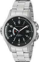 Hamilton Men's H77615133 Navy GMT Dial Watch