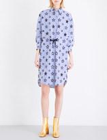 Sandro Bilbao cotton-blend shirt dress