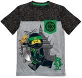 Lego Boys' Ninjago Short Sleeve T-Shirt - Light Gray