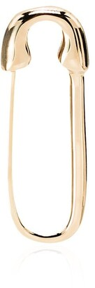 Anita Ko 18kt Yellow Gold Safety Pin Earring