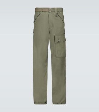 Sacai Cotton cargo pants