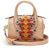 Anya Hindmarch Flip Barrel Vere mini leather shoulder bag