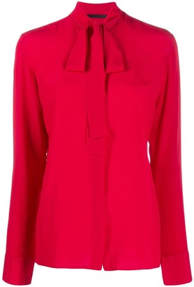 Haider Ackermann Neck-Tie Blouse