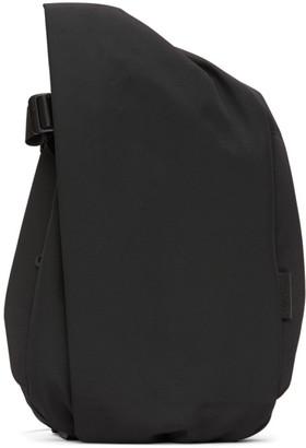 Côte and Ciel Black EcoYarn Isar M Backpack