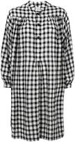 Aspesi check print shirt dress