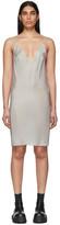 Rick Owens Grey Slip Dress