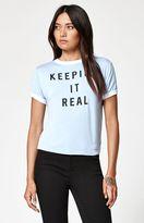 La Hearts Keeping It Real Ringer T-Shirt