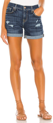 7 For All Mankind Relaxed Midroll Short. - size 23 (also