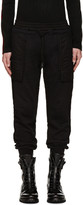 Kokon To Zai Black Inside-Out Lounge Pants