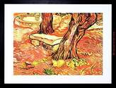 The Art Stop PAINTING VAN GOGH STONE BENCH GARDEN HOSPITAL FRAMED PICTURE ART PRINT F97X9747