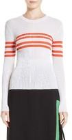 MSGM Women's Stripe Pullover