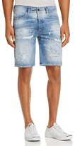 Diesel Bustshort Straight Fit Denim Shorts