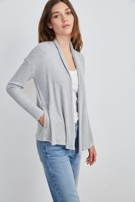 Velvet by Graham & Spencer Vevina Cozy Rib Open Cardigan