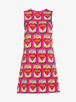 Dolce & Gabbana Can Of Amore A-Line Silk Dress