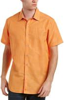 Robert Graham Briarwood Classic Fit Linen-Blend Woven Shirt