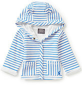 Joules Baby Newborn-18 Months Baby Cuddle Striped Hooded Jacket