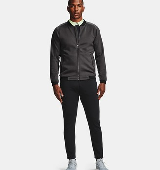 Under Armour Men's UA Range Unlimited Storm Full Zip Bomber Jacket