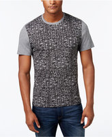 Alfani Men's Geo-Print T-Shirt, Only at Macy's, Slim Fit, Only at Macy's
