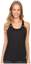 New Balance Perforated Mesh Striped Tank Top